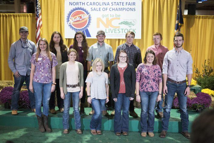livestock scholarship participants
