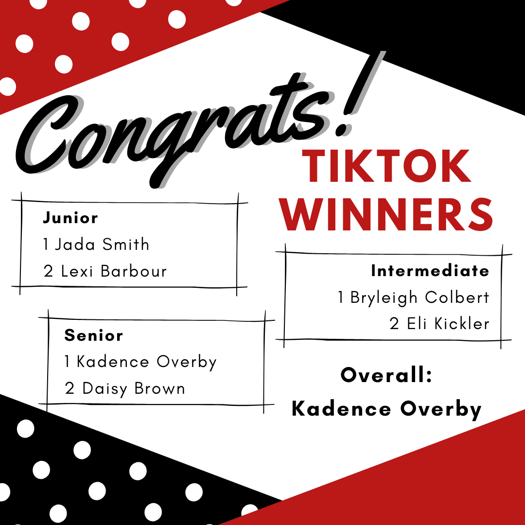TikTok winners